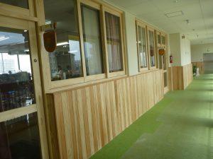 愛育園廊下改修後